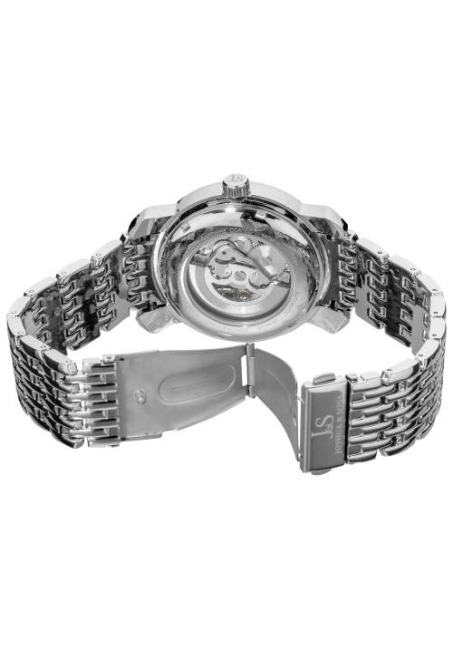 Imperial Skeleton Pave Dial Crystal Bezel Bracelet JS-44