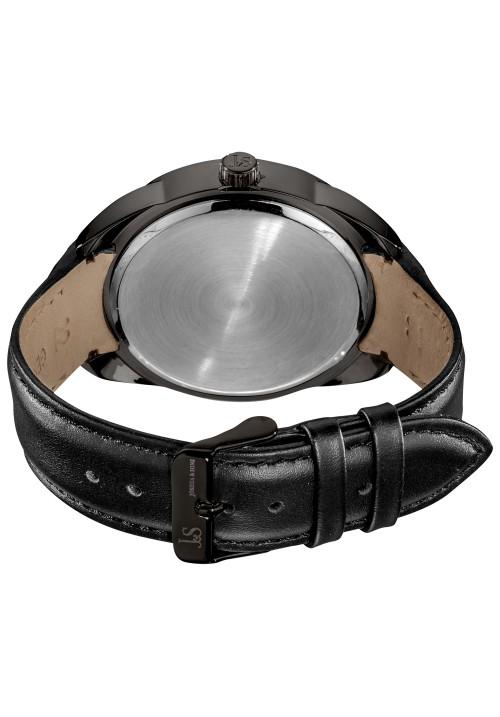 Navigator Tachymeter Bezel Multifunction Leather JS-45