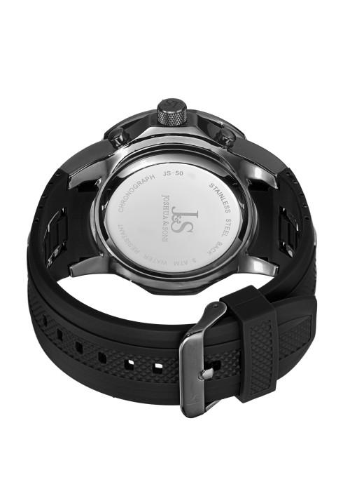 Tracer Gear Bezel Chronograph Rubber Strap JS50