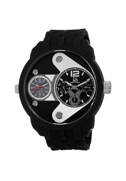 Navigator Arrow Dial Dual Time Multifunction Rubber JS52