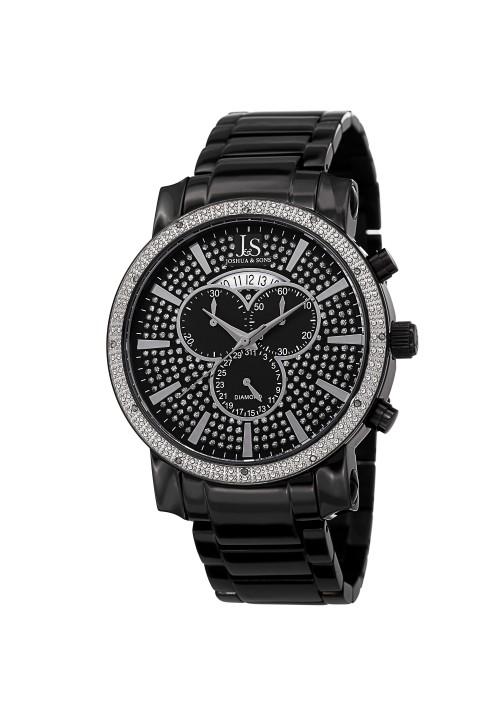Imperial Pave Dial Chronograph Bracelet JS56