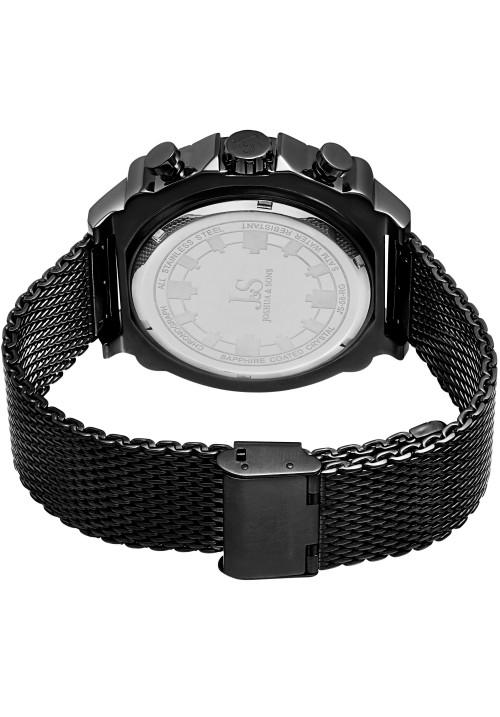Vanquish Rugged Chronograph Mesh Bracelet JS58