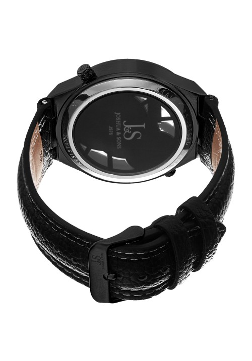 Imperial Dual Movement Dimpled Dial Leather JS76
