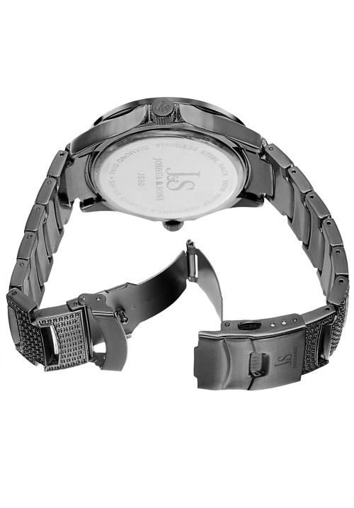 Imperial Dual Movement Crystal Bezel Bracelet JS80