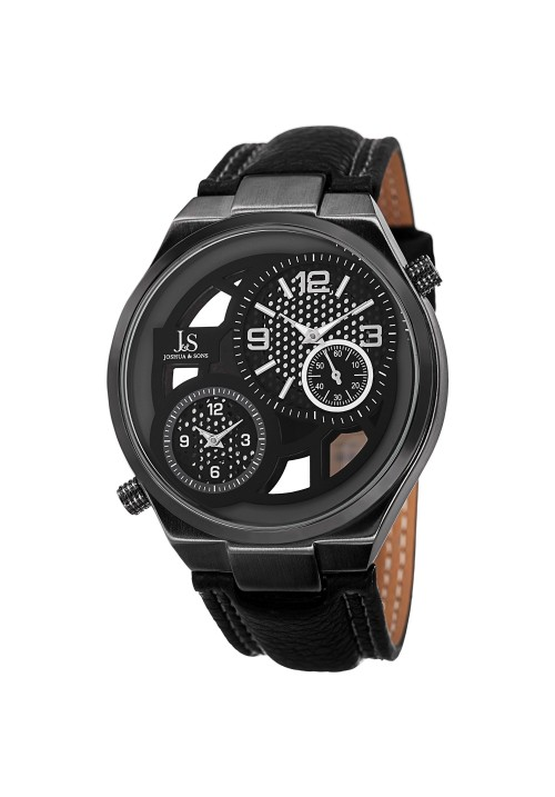 Imperial Dial Movement Skeleton Dial Leather JS83
