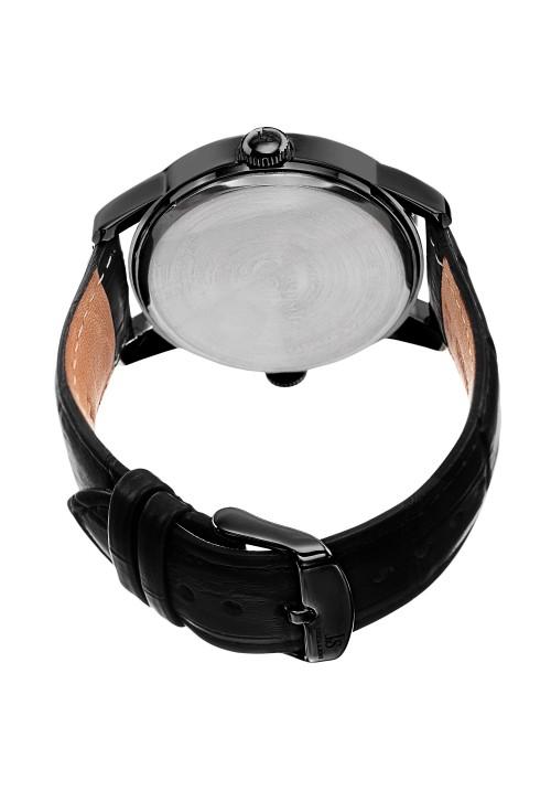 Navigator Dual Time AM/PM Leather Strap JS87