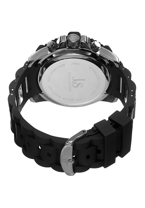 Vanquish Coin Edge Bezel Multifunction Rubber Links JS94