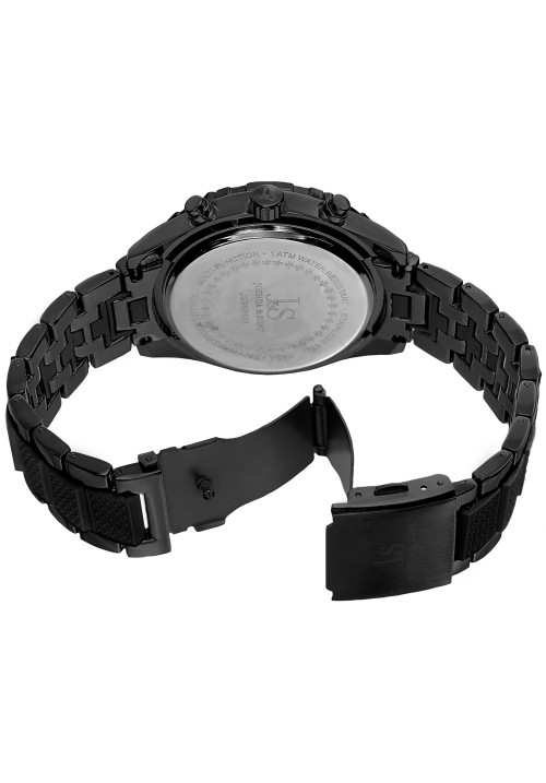 Imperial Patterned Bezel Multifunction Bracelet JS98