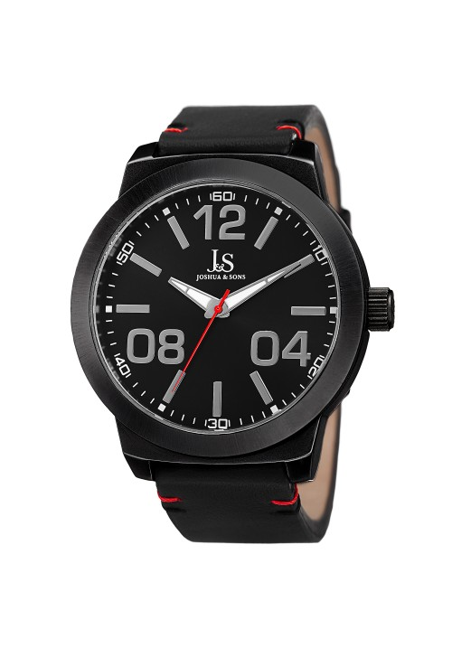 Imperial Matte Dial Brushed Bezel Leather JX103