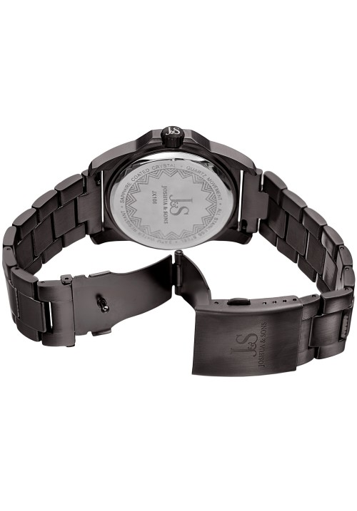 Imperial Brushed Finish Case Hexagonal Bezel Bracelet JX108