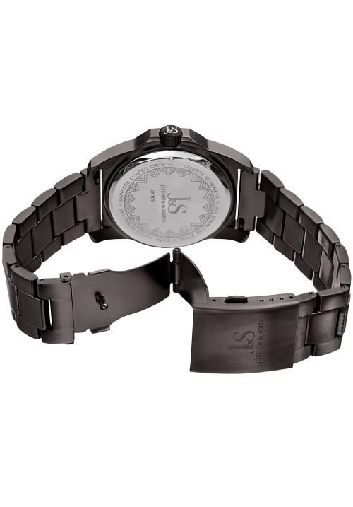 Imperial Brushed Finish Case Hexagonal Bezel Bracelet JX108