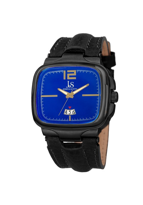 Tracer Square Case Radiant Dial Leather Strap JX117