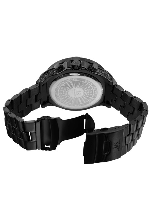 Imperial Pave Dial Crystal Studded Bezel and Bracelet JX121