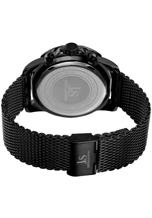 Vanquish Gear Bezel Chronograph Mesh Bracelet JX123