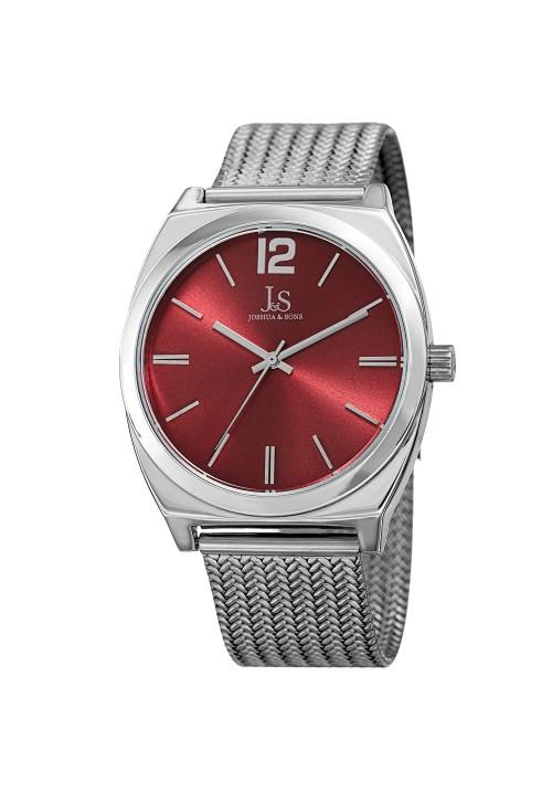 Imperial Tonneau Case Radiant Dial Mesh Bracelet JX124